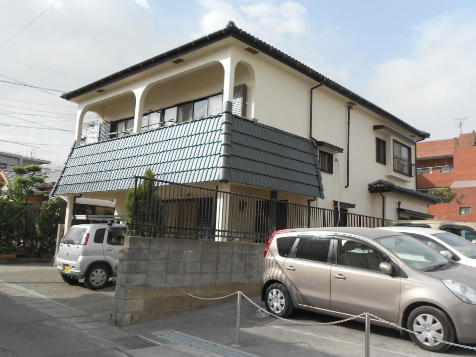 鹿児島市宇宿で住宅屋根外壁の塗装するなら東翔(とうしょう)塗装、防水