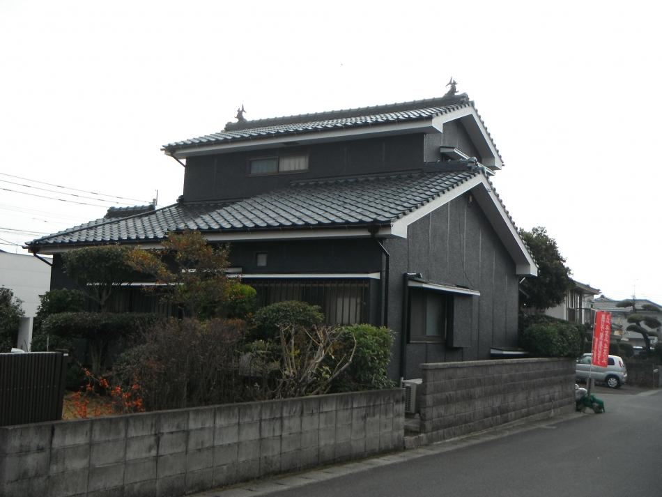 鹿児島市桜ケ丘で住宅屋根外壁の塗装するなら東翔(とうしょう)塗装、防水
