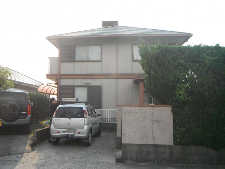 霧島市福山町で住宅屋根外壁の塗装するなら東翔(とうしょう)塗装、防水
