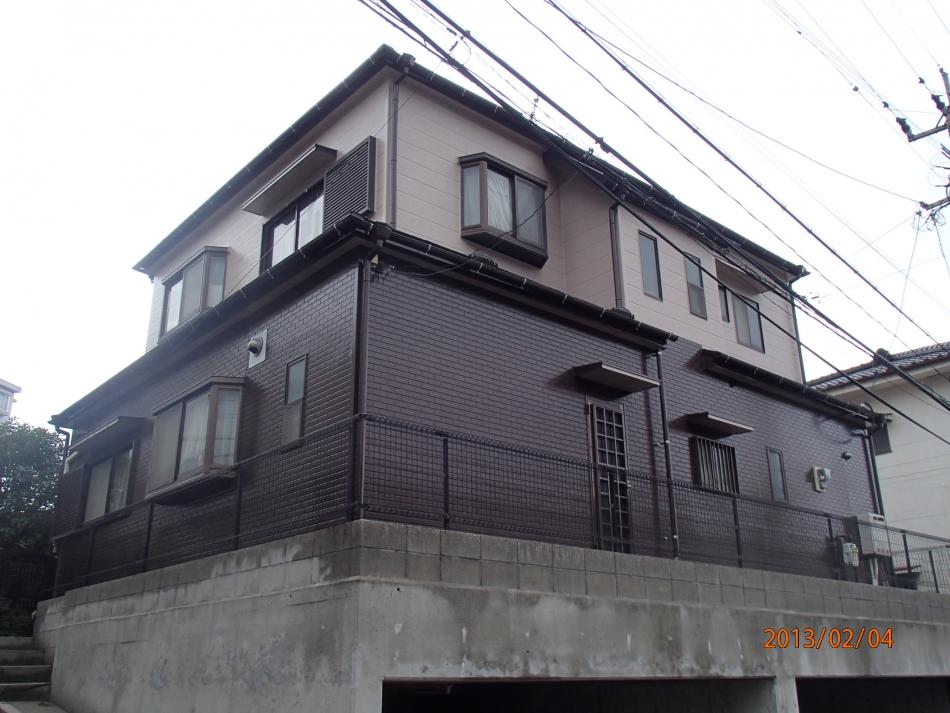 鹿児島市稲荷町、で住宅屋根外壁の塗装するなら東翔(とうしょう)塗装、防水