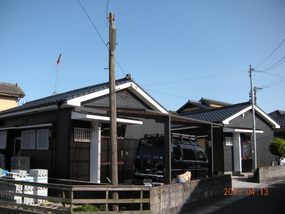 鹿児島県鹿児島市中山町で住宅屋根外壁の塗装するなら東翔(とうしょう)塗装、防水