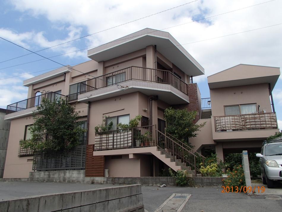 鹿児島県鹿児島市武岡で住宅屋根外壁の塗装するなら東翔(とうしょう)塗装、防水