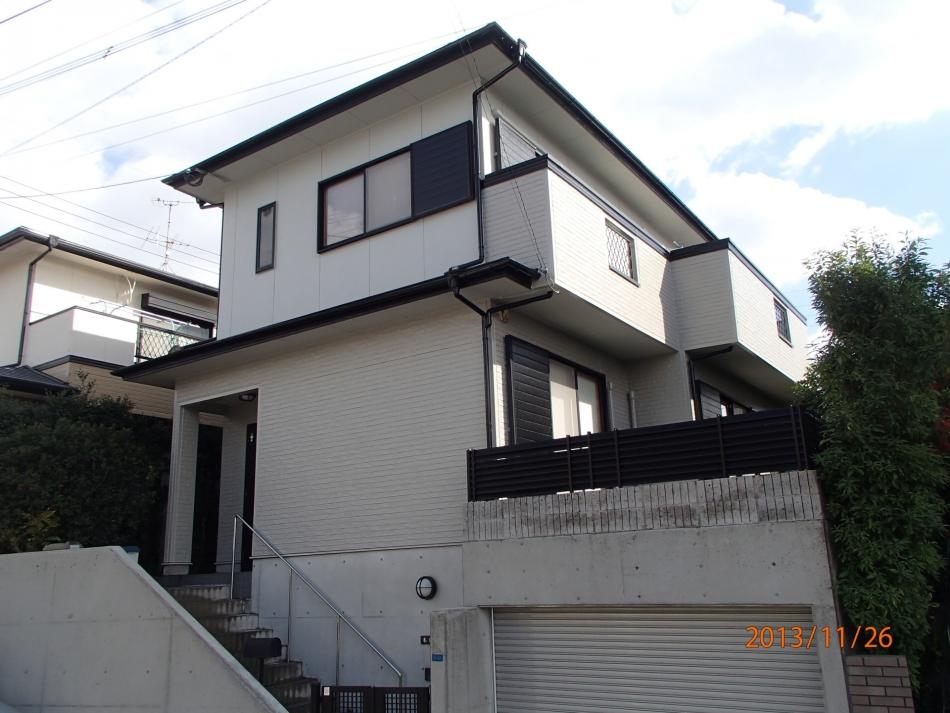 鹿児島県鹿児島市伊敷台で住宅屋根外壁の塗装するなら東翔(とうしょう)塗装、防水