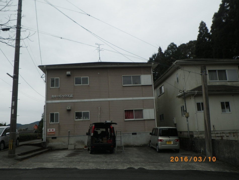 鹿児島県鹿児島市本名町で住宅屋根外壁の塗装するなら東翔(とうしょう)塗装、防水