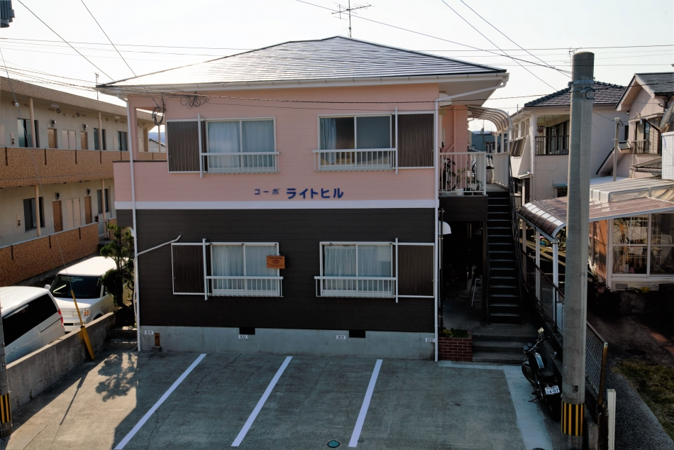鹿児島県鹿児島市桜ケ丘で住宅屋根外壁の塗装するなら東翔(とうしょう)塗装、防水