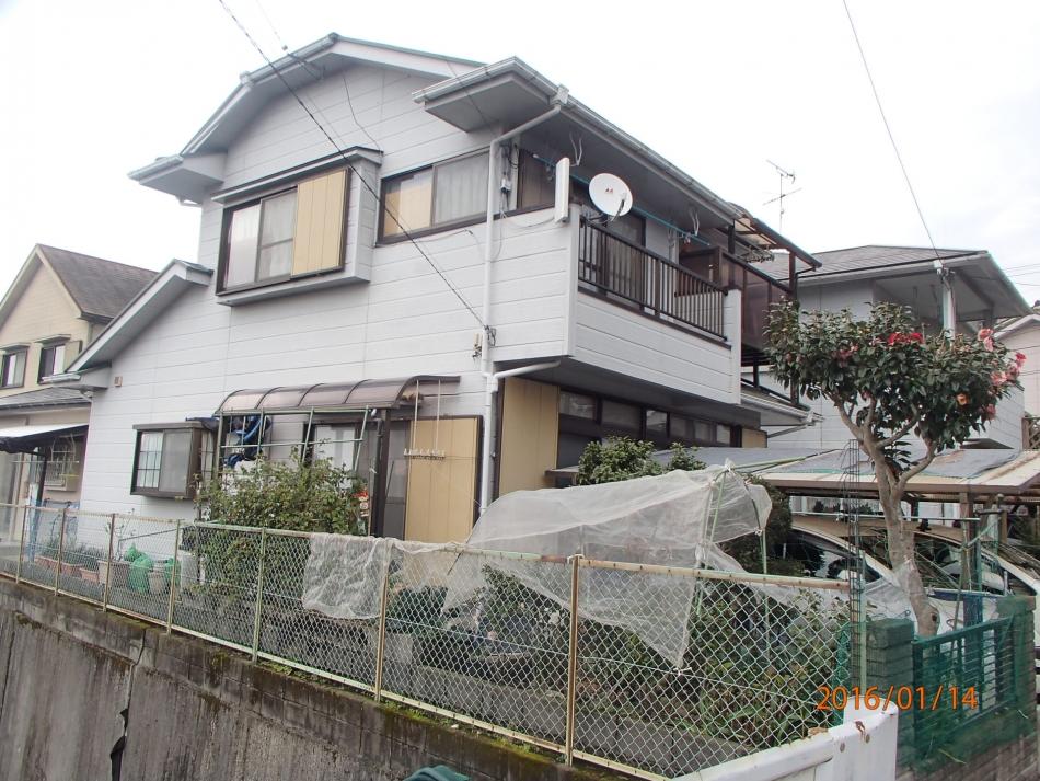 鹿児島県鹿児島市田上台で住宅屋根外壁の塗装するなら東翔(とうしょう)塗装、防水