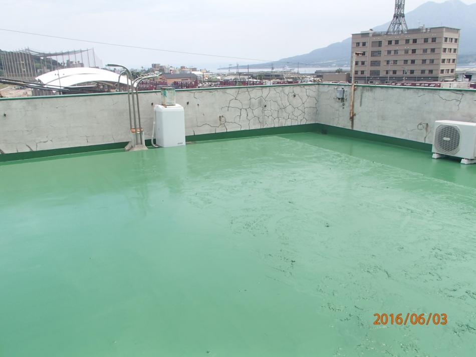 鹿児島県鹿児島市小川町で住宅屋根外壁の塗装するなら東翔(とうしょう)塗装、防水